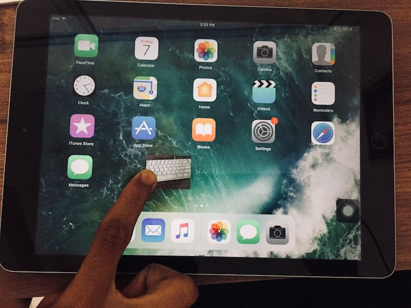 1 Drag and Drop within app on iPad with iOS 11