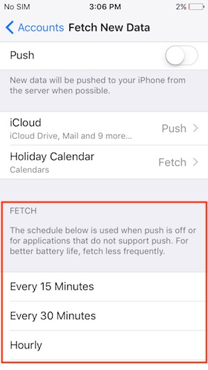 6 Fetch New Data on iPhone with iOS 11