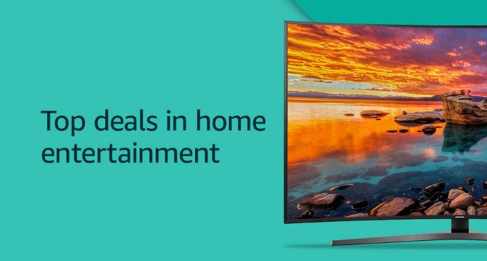 Best Deals Amazon Prime Day 2017 USA Home Entertainment TV deals