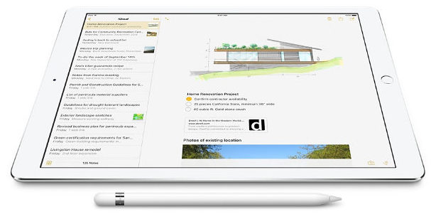 how to Fix Instant notes on iPad Pro lock screen not working with Apple Pencil in iOS 11 or later