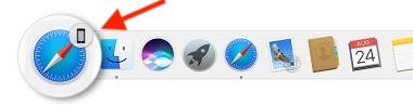 10 HandOff App Access on Mac Dock in High Sierra