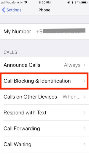 13 Call Blocking & Identification in iOS 11 on iPhone
