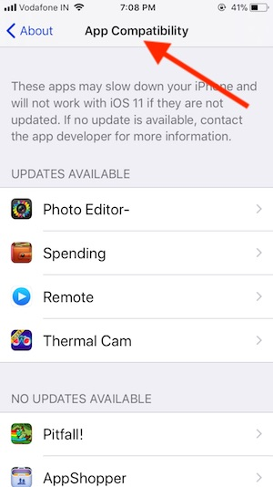 5 compatible app on iPhone