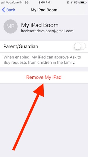 9 Remove Device from Family Sharing on iPhone