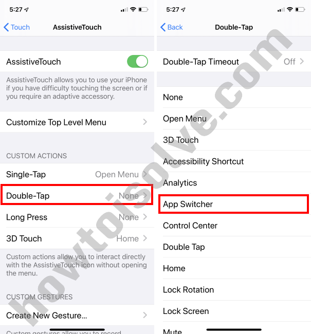 Assistive Touch iOS 13