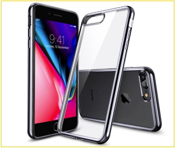 1 ESR iPhone 8 Plus Clear Case