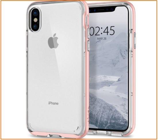 1 Spigen Hybrid Crystal Best iPhone X Bumper cases