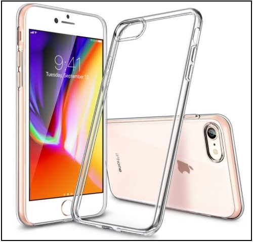 2 ESR Clear case for iPhone 8