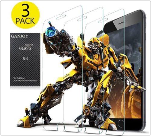 2 GANJOY iPhone 8 Screen protector in Deals