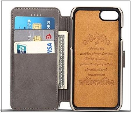 2 Pasonomi iPhone 8 Wallet Case