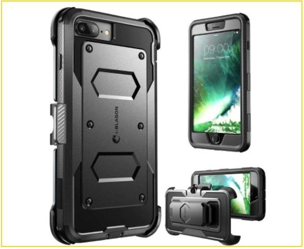 2 i-Blason iPhone 8 Plus Bumper case