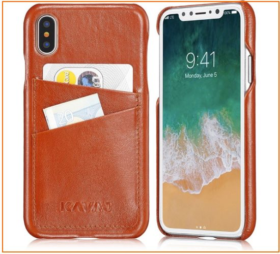 3 Leather bumper case by Kavaj Card Case