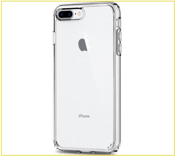 3 Spigen iPhone 8 Plus Protective clear case