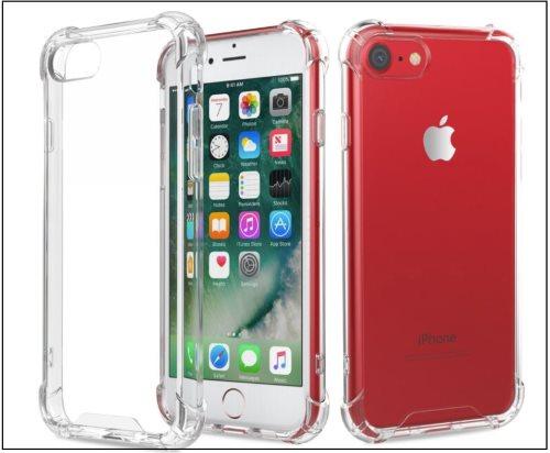 4 Flexible anti Scratch Protective Bumper case for iPhone 8
