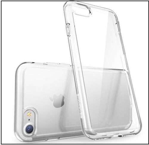 5 Scratch Resistance Bumper Clear case for iPhone 8