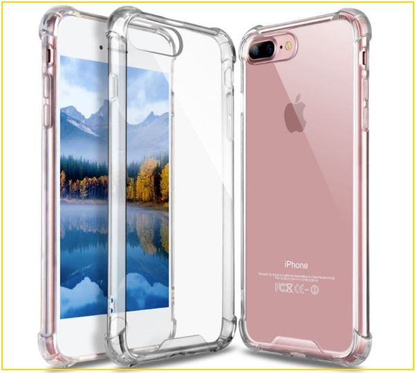 5 iPhone 8 Plus Bumper Clear case