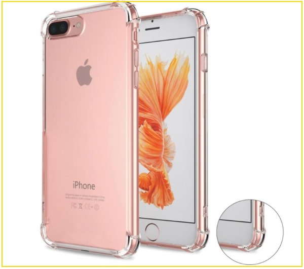 6 Matone Crystal Clear Case for iPhone 8 Plus