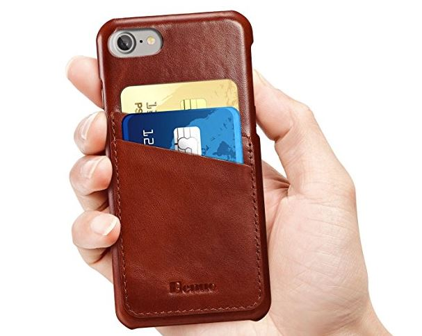 7 Benuo iPhone 8 Vintage Case with Card Slots