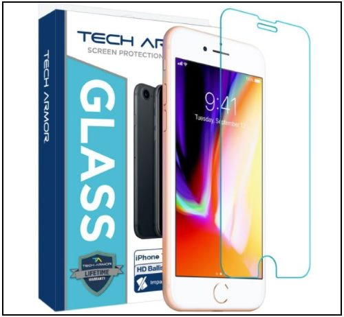 7 Tech Armour, HD Clarity and 3D touch Protector