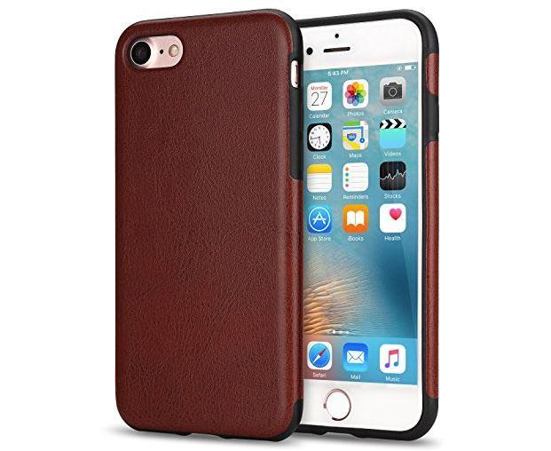 8 TENDLIN iPhone 8 Case with Hybrid Slim Case