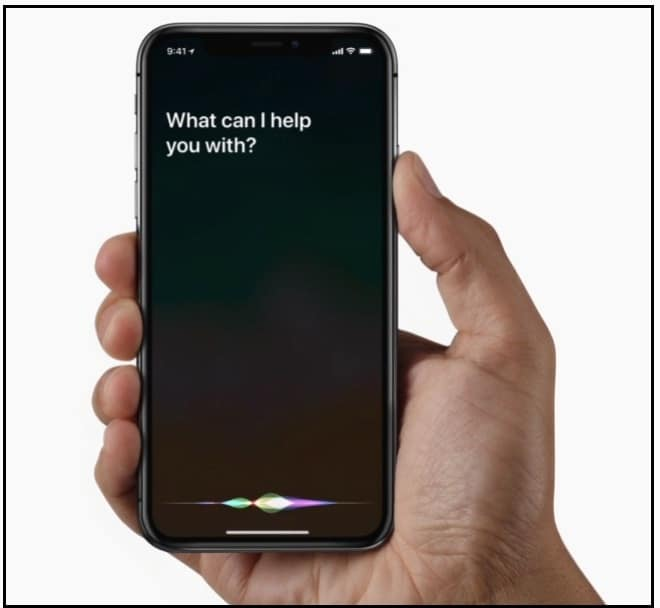 Activate Siri on iPhone X without Home Button