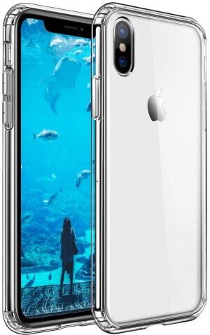 Mkeke Flexible Slim Case for iPhone XS Max