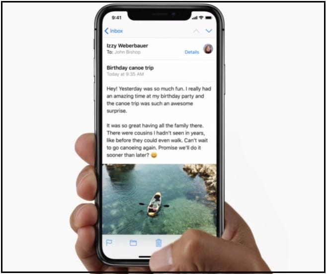 Use Gestures on iPhone X without Home Button