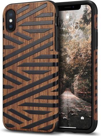 Tasikar Natural Wooden Grain Case