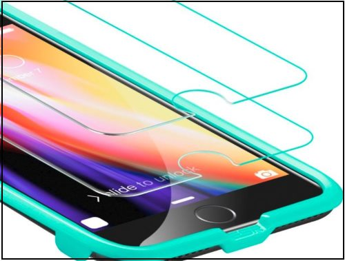 1 ESR Tempered Glass Protector for iPhone 8 Plus
