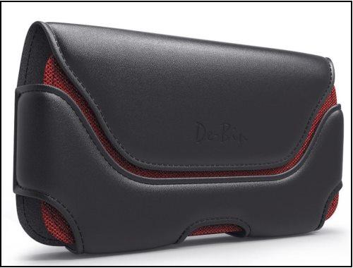 3 LOREM – iPhone 8 Plus leather holster belt case