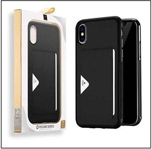 3 Protective Slim leather case for iPhone X