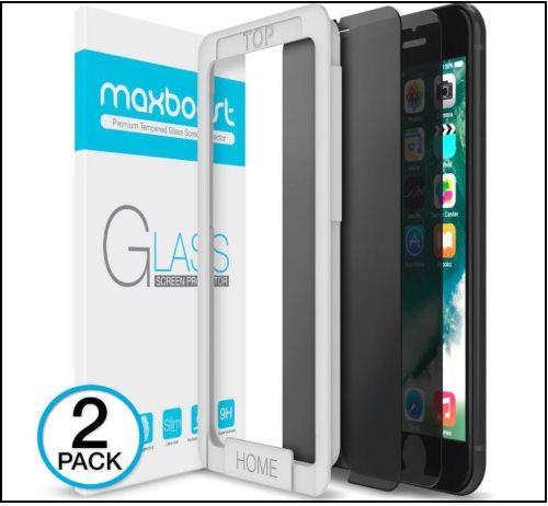 6 MaxBoost iPhone 8 Plus Screen Protector