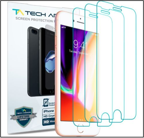 7 Armor Screen Protector for iPhone 8 Plus