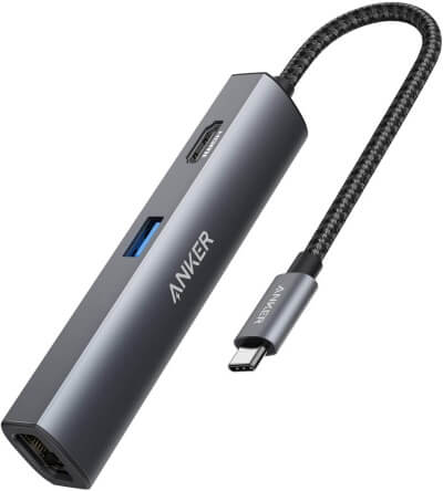 Anker 5-in-1 USB-C Adapter for MBP