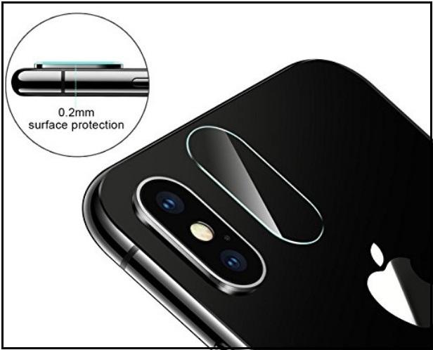 Best iPhone X back Camera Lens Protectors