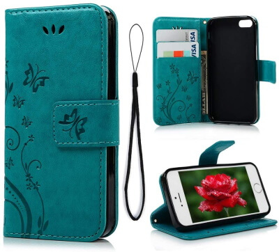 MOLLYCOOCLE Soft Leather Case