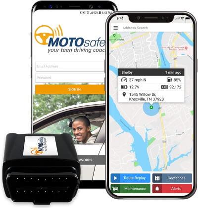 MOTOsafety GPS Vehicle Tracker