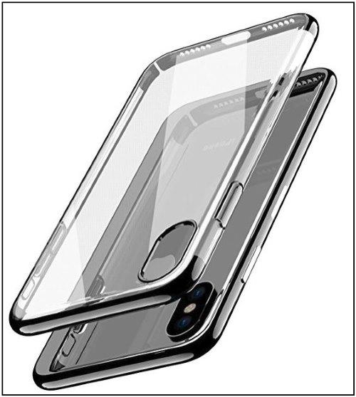 4 Tozo iPhone X Clear case