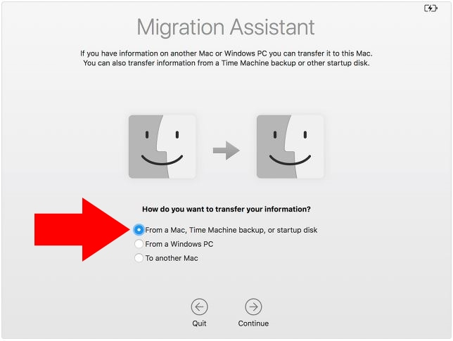 2 Migration Assistant for move old Mac data to new Mac - 2