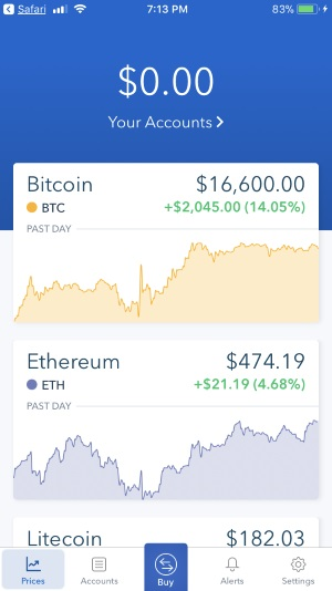3 Buy or Sell Bitcoin on Coinbase on iPhone
