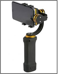 Best Gimbals for iPhone Ikan FLY-X3-PLUS Gimbal Stabilizer for iPhone video shooting