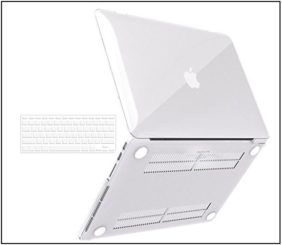 2 Best Soft Touch Retina Display MacBook Pro clear case