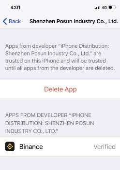 3 Delete app on iPhone