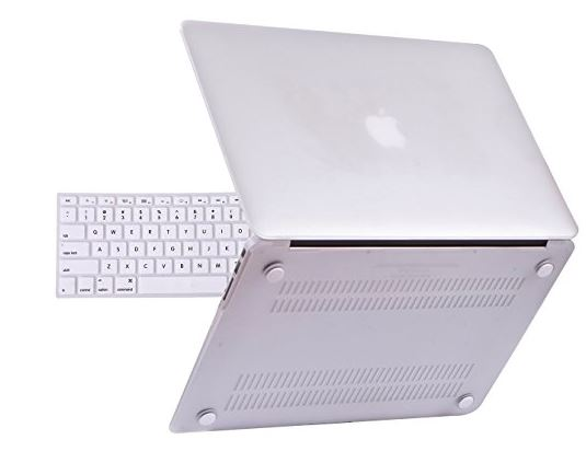4 Clear Case for soft touch with MacBook Air