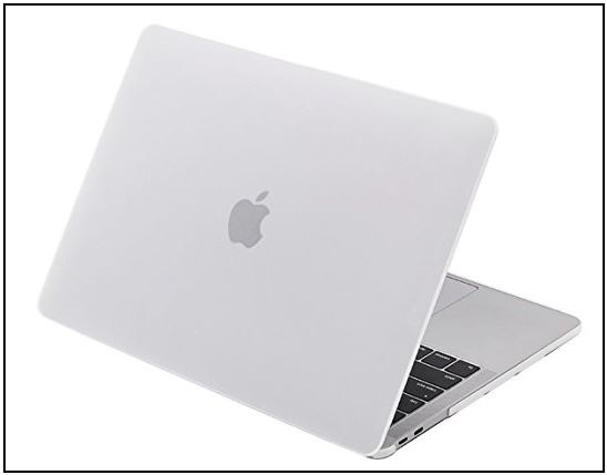 6 Macbook Pro with hard clear case