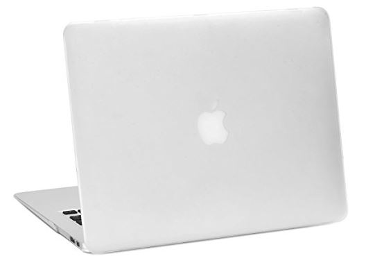 6 Rubberized Clear Case for MacBook Air 13 inch