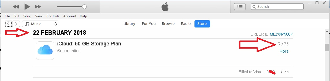 1 Check Purchase History on iTunes store