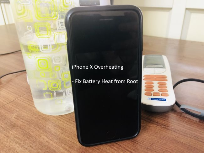 1 iPhone X Overheating issue