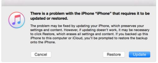 3 Restore iPhone X to factory settings in recovery mode