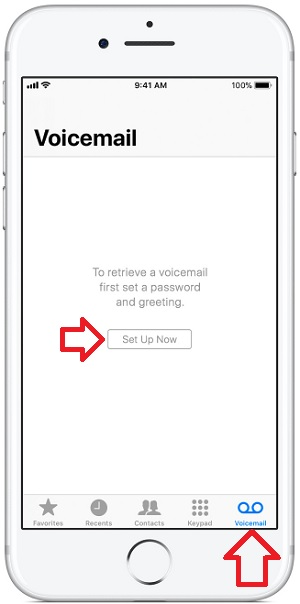 3 Setup Visual Voice Mail on iPhone